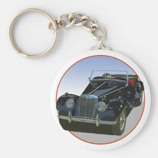MG noir TF 1500 Porte-clé Rond