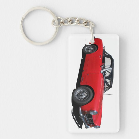 MG Single-Sided RECTANGULAR ACRYLIC KEYCHAIN