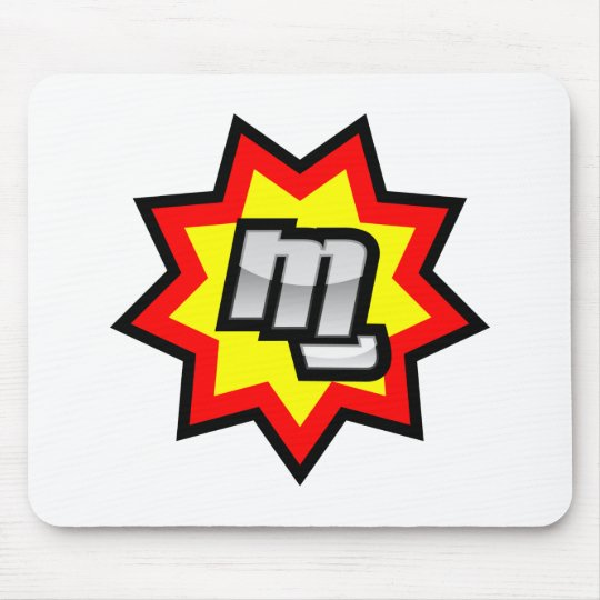 MG Symbol Mouse Pad