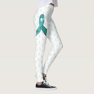 MG Warrior Awareness Ribbon Leggings