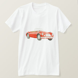 MGA Classic car T Shirt art customisable