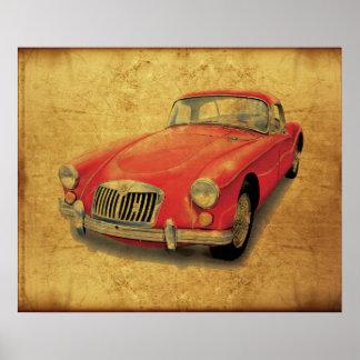 MGA Coupe Poster