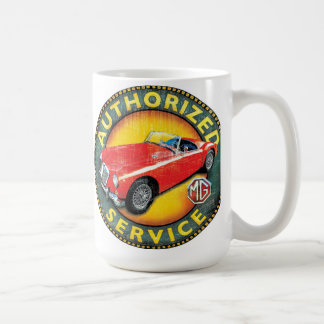 MGA roadster service sign Coffee Mug