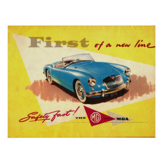 MGA Safety fast mg Poster