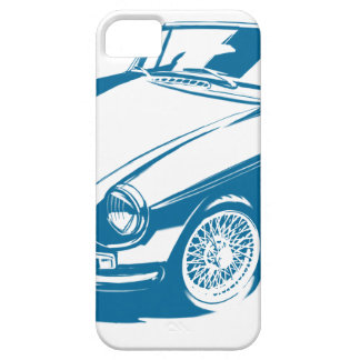 MGB blue iPhone 5 Cover