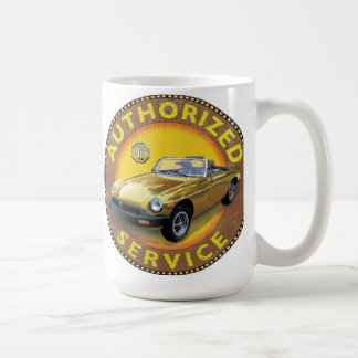 MGB rubber bumper car Coffee Mug