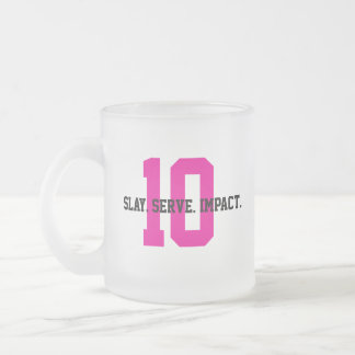 MGL Cuppa - Goal #10: Reduced Inequalities Frosted Glass Coffee Mug
