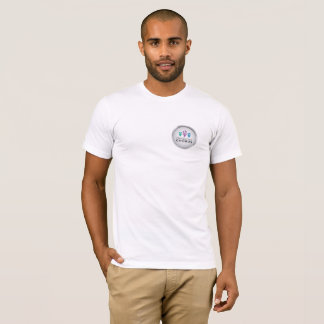 MGMC Logo and Walk Hand in Hand Men's T-Shirt