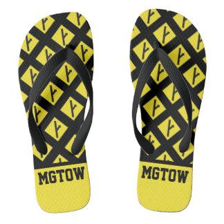 MGTOW - Men Going Their Own Way Flip Flops