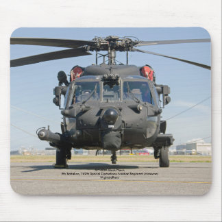 MH-60M Black Hawk Special Operations helicopter Mouse Pad