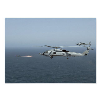 MH-60R Seahawks Poster