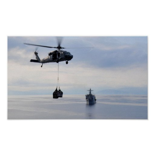 MH-60S Seahawk Poster