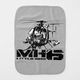 MH-6 Little Bird Baby Burp Cloths