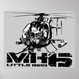 MH-6 Little Bird Poster