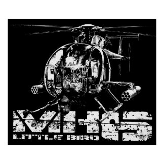 MH-6 Little Bird Poster