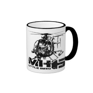 MH-6 Little Bird Ringer Coffee Mug