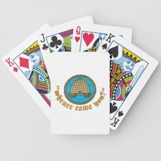 Mhence Came You Bicycle Playing Cards