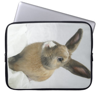 "MHRR Honeybadger Bunny Rabbit 15"" laptop sleeve"