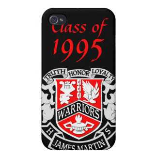 MHS Coat of Arms Grad iPhone 4 Case