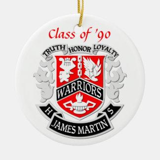 MHS Coat of Arms Grad Ornament