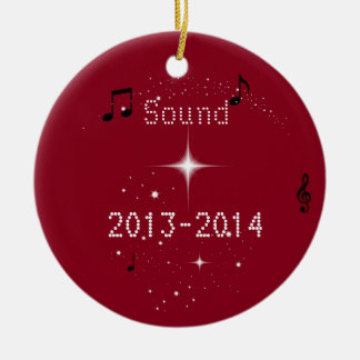 MHS Sound Ornament  Customize your own Show Chior