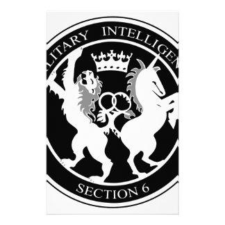 MI6 STATIONERY