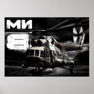 Mi-8 Posters