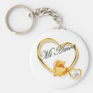 Mi Amor Keychain