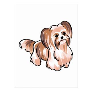 MI KI DOG POSTCARD