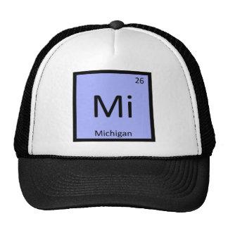 Mi - Michigan State Chemistry Periodic Table Trucker Hat