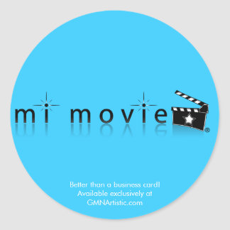 mi movie sticker