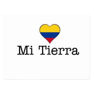 Mi Tierra Colombia Postcard