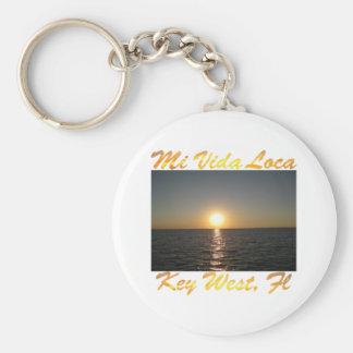 Mi Vida Loca Key West Florida #013 Keychain