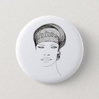 Mia 2 Inch Round Button