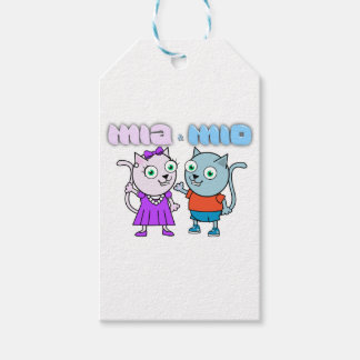 Mia and Mio comestible items Gift Tags