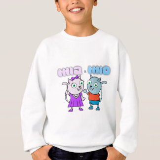 Mia and Mio comestible items Sweatshirt