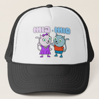 Mia and Mio comestible items Trucker Hat
