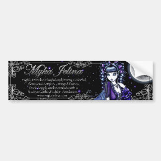 """Mia"" Fairy Logo Bumper Sticker"