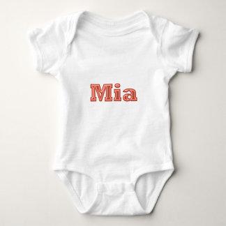 MIA   Girl Name Text Tee Shirts