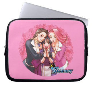 Mia, Maya & April Laptop Computer Sleeve