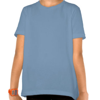 Mia - Personalized Blue Acrostic with Virtues T-shirts