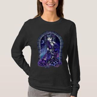 Mia Twilite Moon Long Sleeve Black Shirt