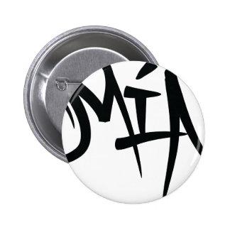 mia-typography 2 inch round button