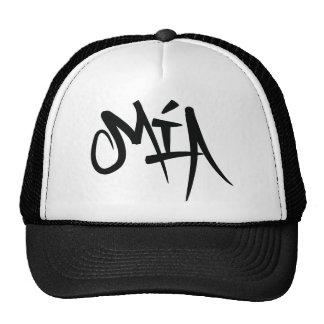 mia-typography trucker hat