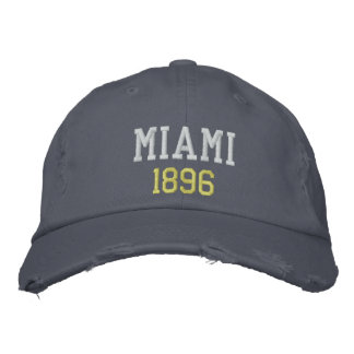 MIAMI 1896 EMBROIDERED HAT