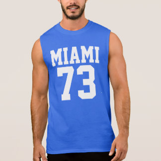 Miami 73 royal blue shirt