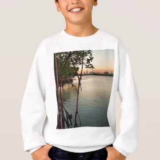 Miami and Mangroves at Sunset Sweatshirt