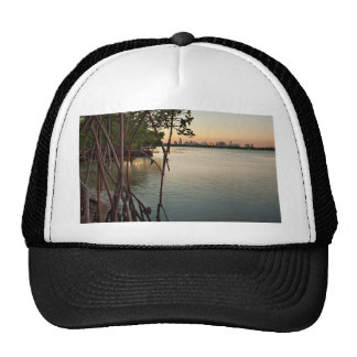 Miami and Mangroves at Sunset Trucker Hat