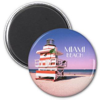 Miami Beach #01 Magnet