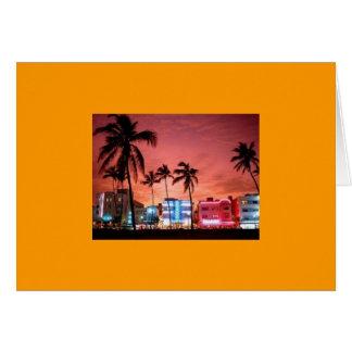 MIAMI BEACH CARD